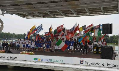 36 Countries Attend The Opening Ceremony of the 2011 IWWF Wakeboard World Championships