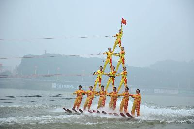 The Chinese National Show Ski Team
