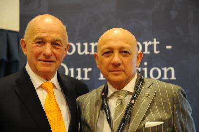 Franz Kuhn AUT and Silvio Flacioni ITA