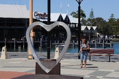 Waterside Shops in Mandurah, Australia