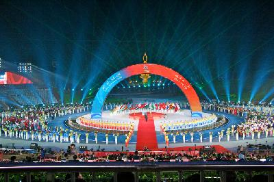 Opening Ceremonies of the 2012 Asian Beach games